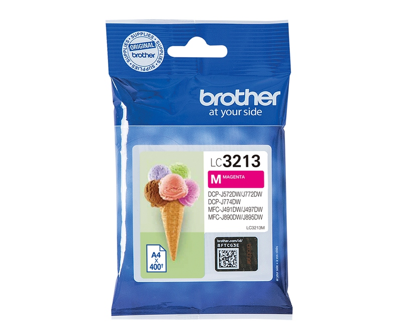 Brother Inkjet - LC3213M Magenta