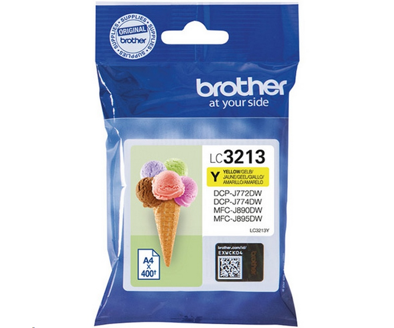 Brother Inkjet - LC3213Y Yellow