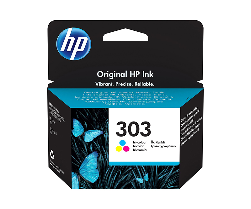 HP 303 tricolor 165 sider