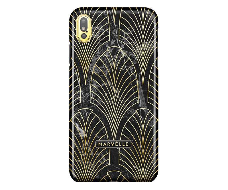 Marvêlle N°400 Gatsby iPhone X/XS - Bagcover