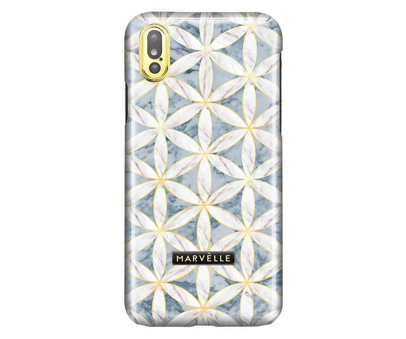 Marvêlle N°400 Golden Blossom iPhone X/XS - Bagcover