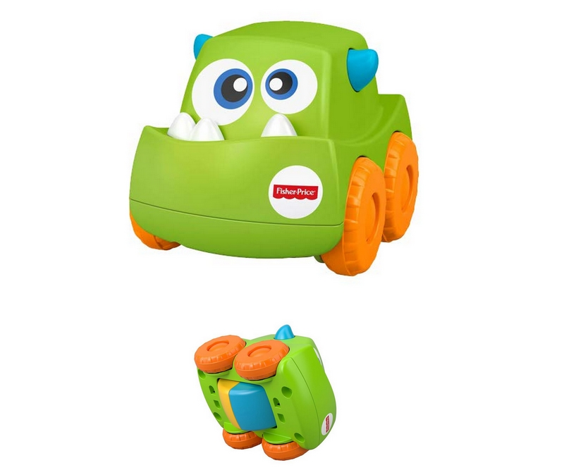 FISHER PRICE - Mini Monster Truck, fra 6 mdr - GRØN