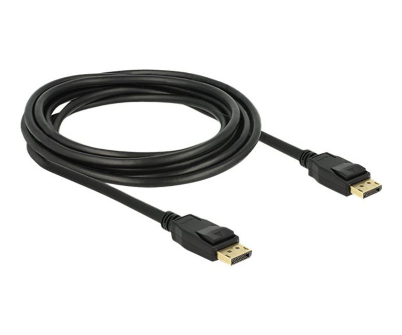 DeLOCK DisplayPort kabel Sort 3m