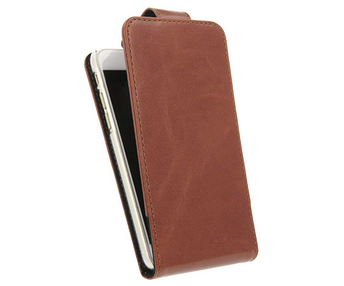Valenta Flip Classic Luxe - iPhone 6/6S - Brown