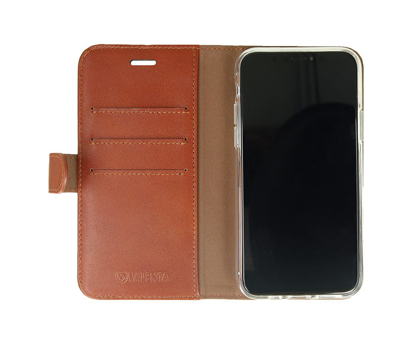 Valenta Booklet Classic Luxe Brown iPhone 11 Pro