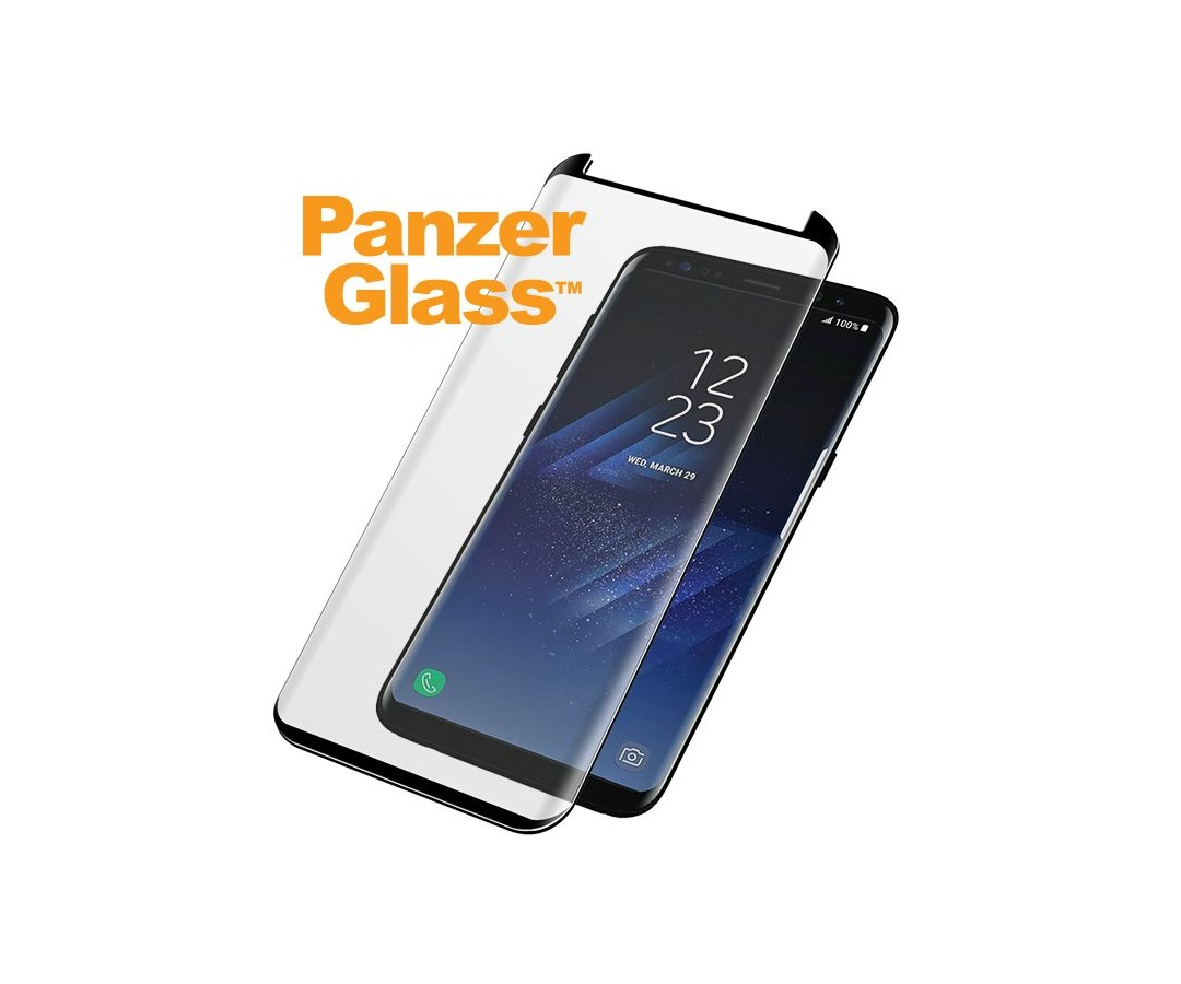 PanzerGlass Samsung Galaxy S8 Plus Black (Cover venlig)
