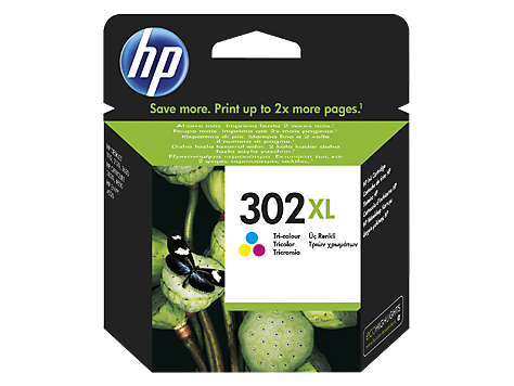 HP 302XL Inkjet - Tri-Color