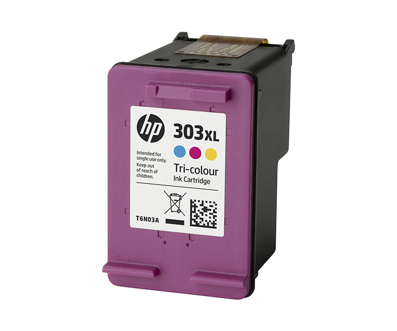 HP 303XL tricolor 415 sider
