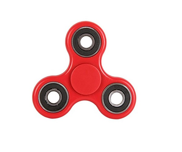 Hand Fidget Spinner Anti Stress Rød
