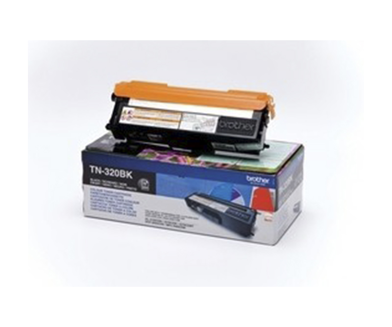 Brother Toner TN320BK - Sort 2500 sider