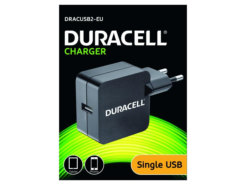 Duracell USB lader, 1 x 2400mA